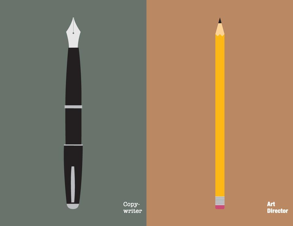 The Eternal Dispute: Copywriters vs Art Directors | inspirationfeed.com