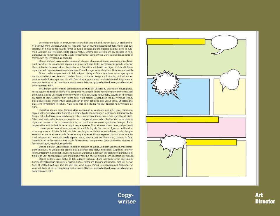 The Eternal Dispute: Copywriters vs Art Directors | inspirationfeed.com