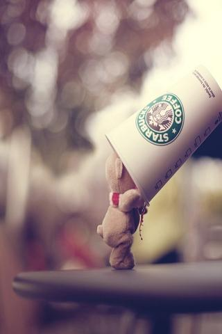 Starbucks iPhone Hd Wallpaper Free iPhone Wallpapers and Backgrounds | WallpaperLa