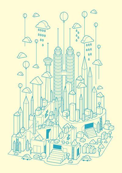 Kuala Lumpur Art Print by Steven Toang | Society6