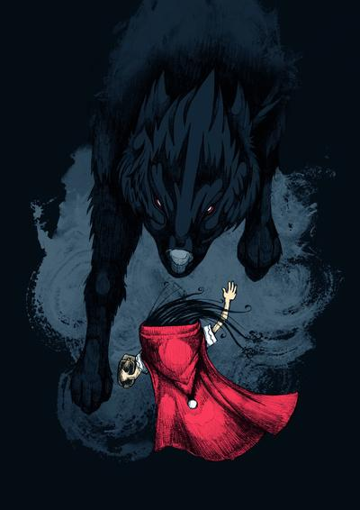 Big Bad Wolf Art Print by Steven Toang | Society6