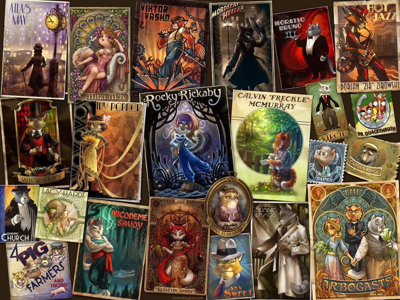 Lackadaisy :: Character Gallery
