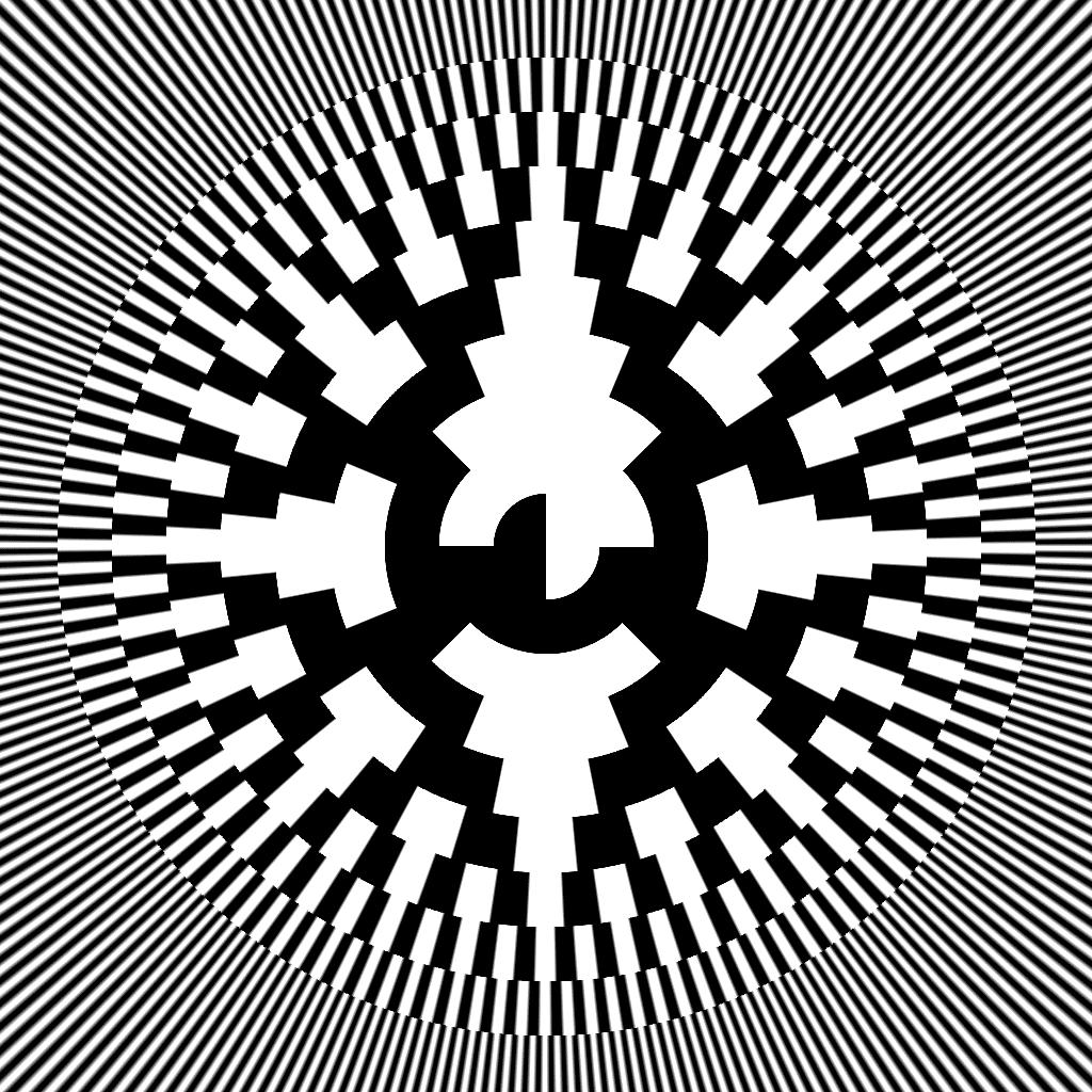 Beautiful Pixels: Radial 10 bit Gray code - Tutorial