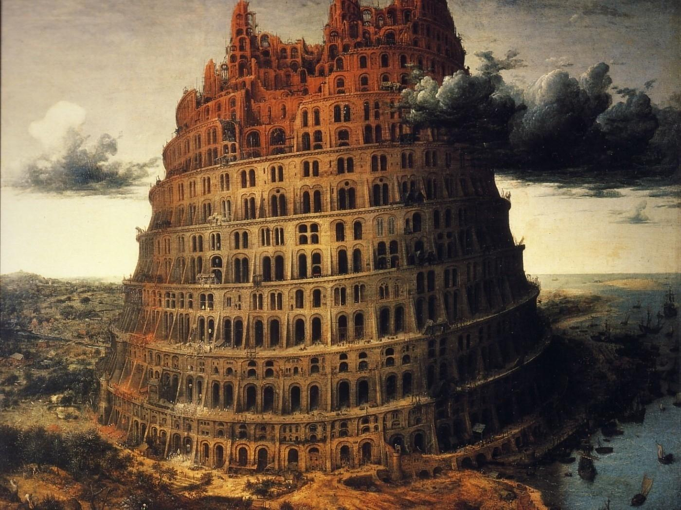 Download Wallpapers, Download 1400x1050 tower of babel digital art 1400x1050 wallpaper Wallpaper –Free Wallpapers Download