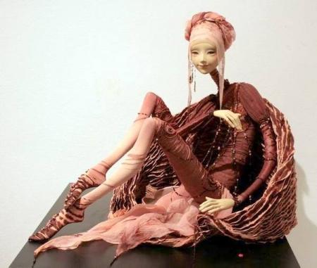 Кукольный мастер Наталья Лопусова-Томская и ее удивительные куклы из папье-маше. » Искусство. Современное искусство всех жанров