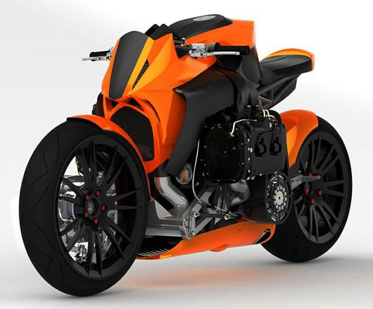 The Kickboxer Motorcycle Design | Luxury Lifestyle Blog