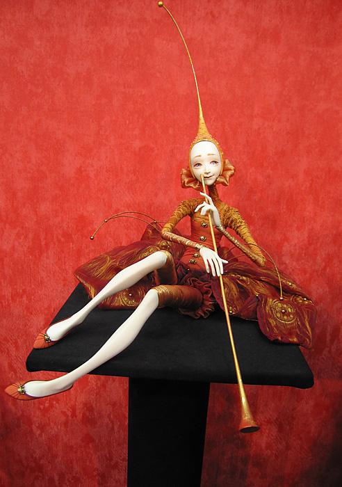 белый лис Ого: кукольники 3