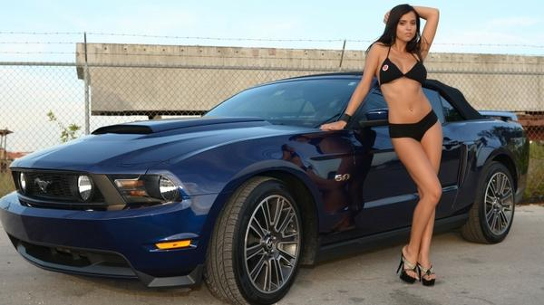 lingerie,brunettes lingerie brunettes women bikini cars models muscle cars high heels ford mustang janessa brazil girls – Girls and Cars Wallpaper – Free Desktop Wallpaper