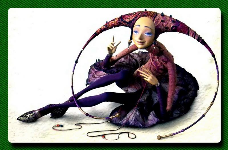 Изящные куклы Лопусовой-Томской.. Комментарии : LiveInternet - Российский Сервис Онлайн-Дневников