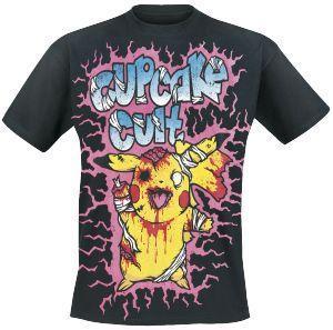 Zombie - T-Shirt by Cupcake Cult - Codice articolo: 172098 - da 19,99 € - EMP Mailorder Italia ::: La vendita per corrispondenza on line Rock Metal Punk: T-shirts, CD, DVD, Poster, abbigliamento e merchandise ufficiale