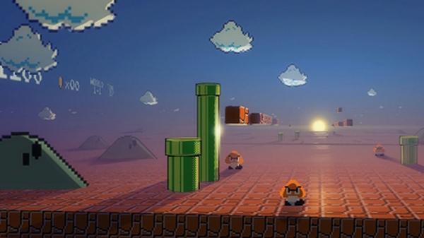 video games,Nintendo nintendo video games mario super mario bros pixels retro games 1366x768 wallpaper – Mario Wallpaper – Free Desktop Wallpaper