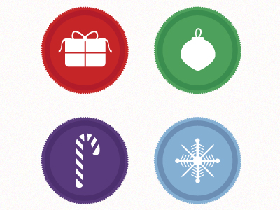 Christmas Icons by Hillary Hopper