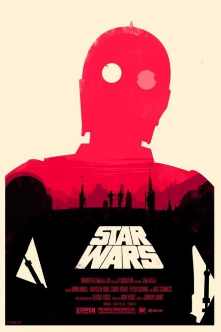 BE NICE ART FRIENDS» Blog Archive » STAR WARS MOVIE POSTERS BY OLLY MOSS