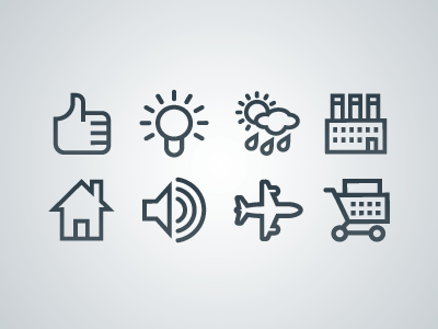Vectory icon set by Icojam