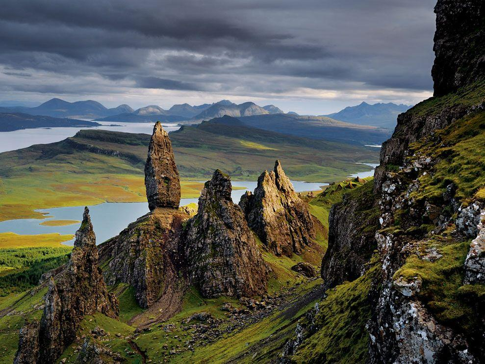 Basalt Pinnacles Photo, Scotland Wallpaper – National Geographic Photo of the Day