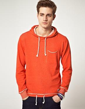 Jack & Jones Intelligence | Jack & Jones Intelligence Hooded Sweat Top at ASOS