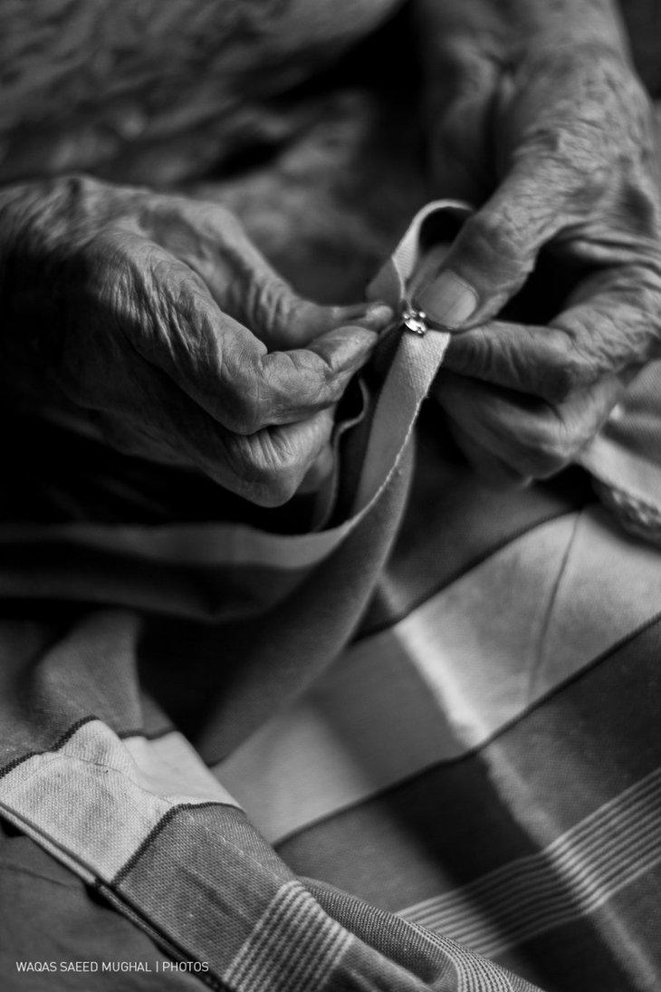Stitching Life by ~pixmestudio