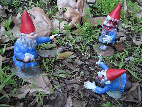 Zombie Garden Gnomes by Chris Stever and Jane DeRosa — Lost At E Minor: For creative people
