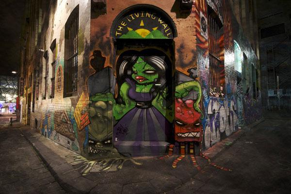 50 Tremendous Graffiti Styles - SloDive