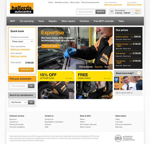 cxpartners | Halfords