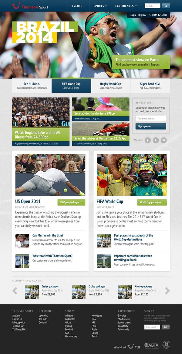 cxpartners | TUI – Thomson Sport