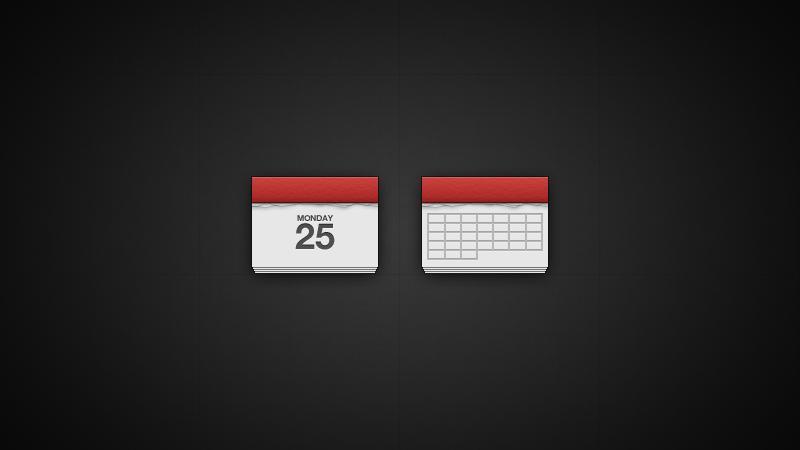 Simple Calendar Icon | PixelsDaily