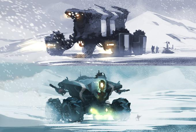 Concept Art World » Iron Sky Concept Art by Jussi Lehtiniemi