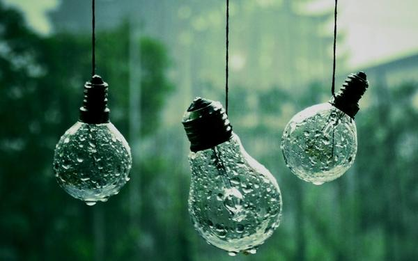 water,light light water closeup nature rain drops wet hanging macro depth of field bulbs string rain on glass – Fields Wallpaper – Free Desktop Wallpaper