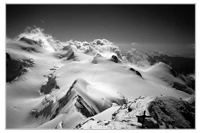 Mighty Monte Rosa: Photo by Photographer Didier R. - photo.net