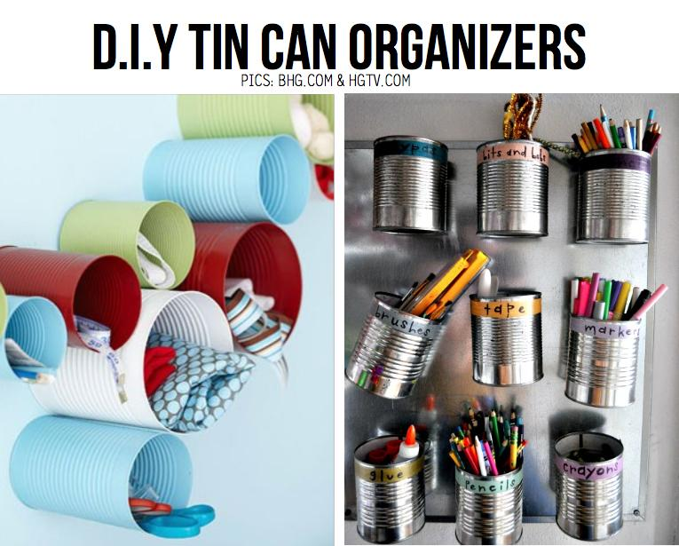 Diy organizing ideas 10 diy ideas to boost your spring cleaning 93095 on wookmark - Diy tin can ideas ...