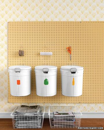 Roundup: 8 Clever DIY Ways to Organize Your Recycling » Curbly | DIY Design Community