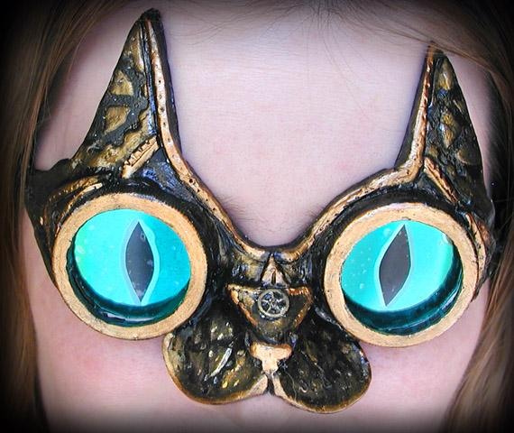Steampunk Cat Goggles by ~Namingway
