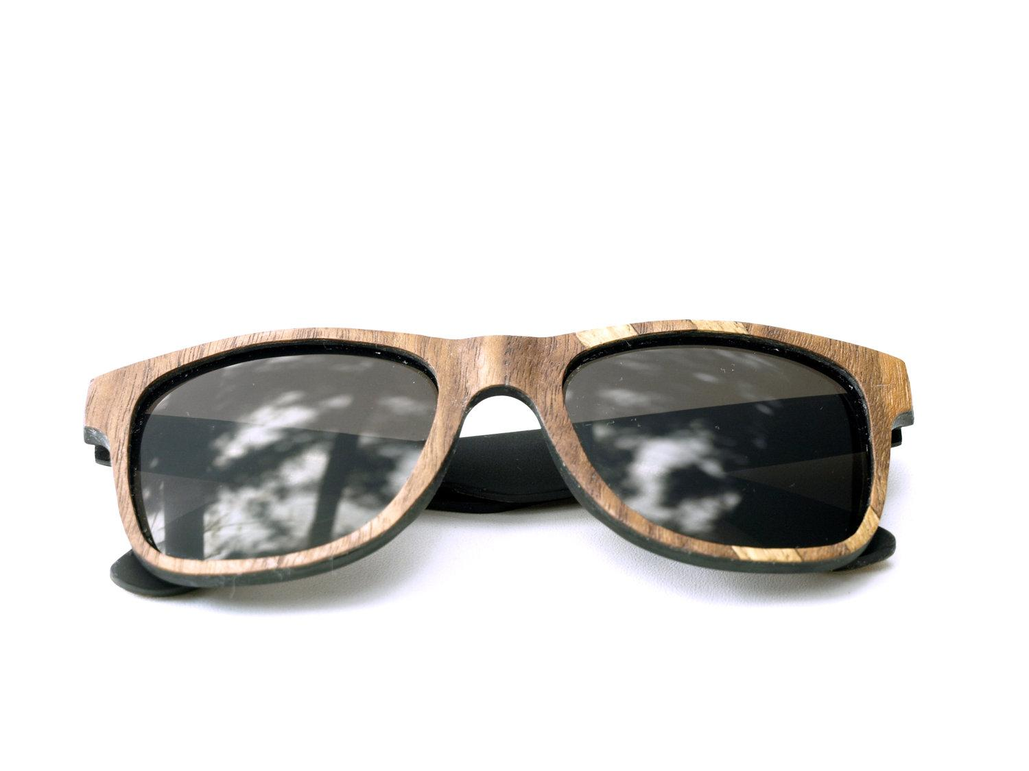 Walnut and Oak Wayfarer // The Original by tumbleweedshandcraft