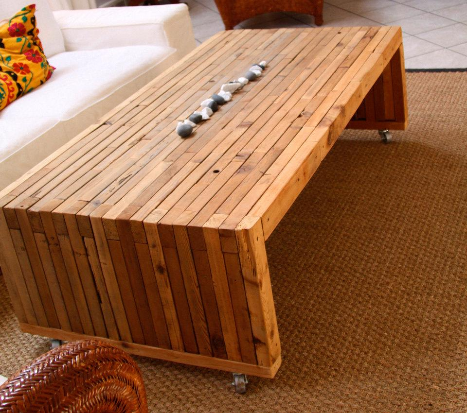 100percent Reclaimed Cedar Coffee Tables by RandRDesignworks