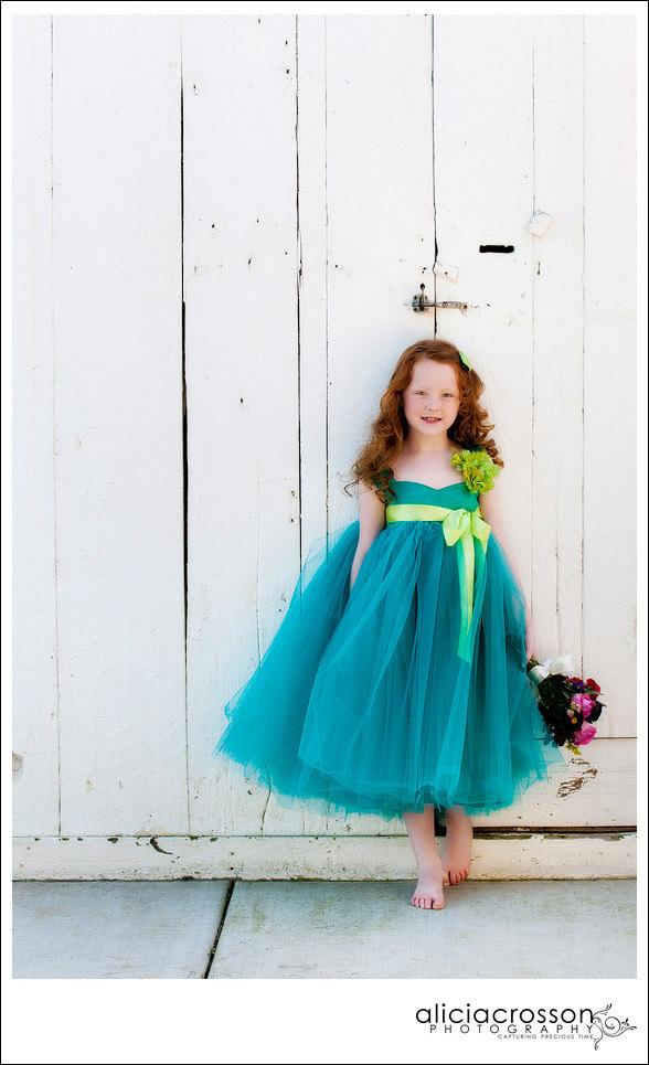 Flower Girl Dress Girls Dress by OliviaKateCouture on Etsy