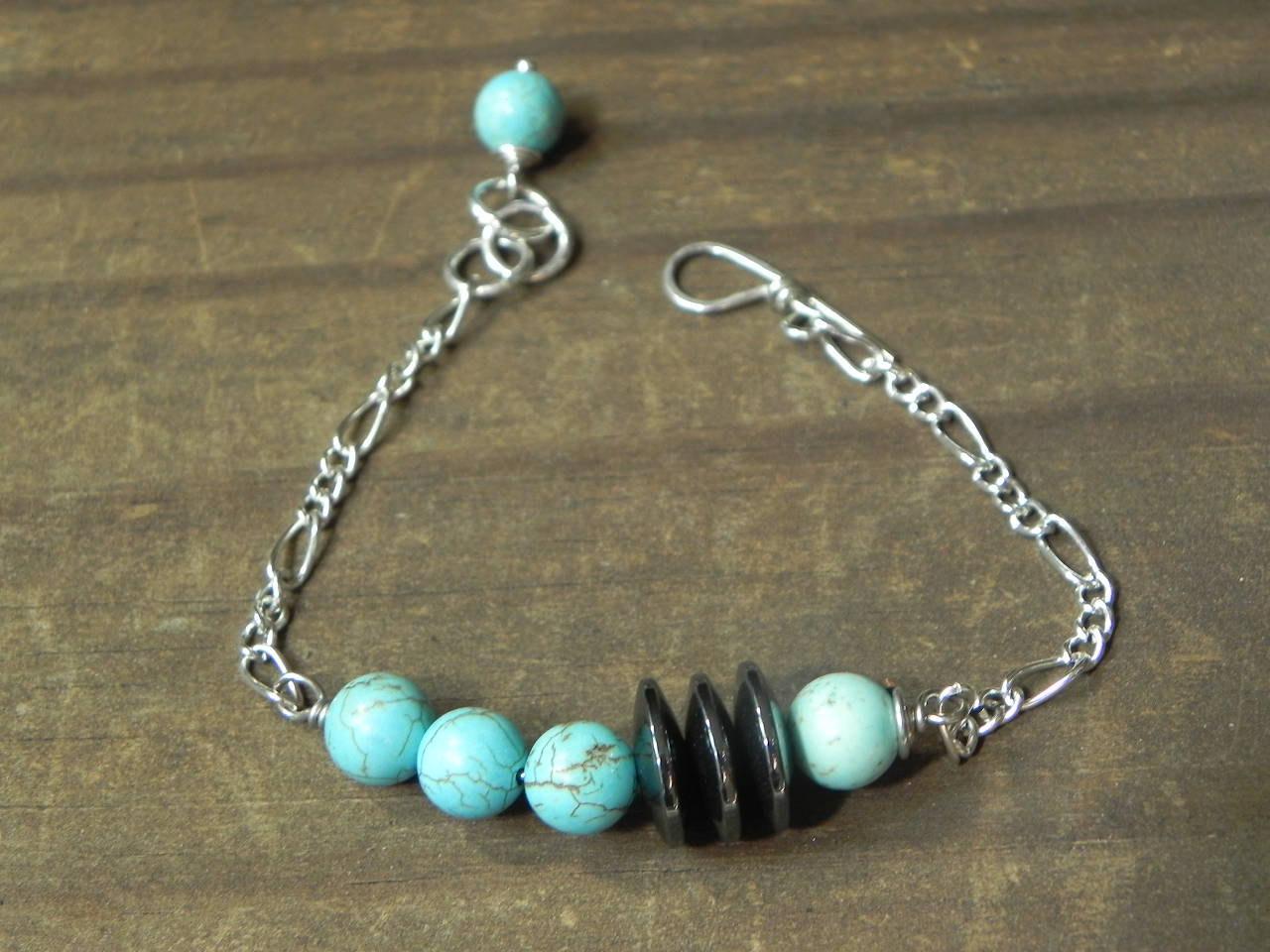 geometric bracelet mod bracelet sleek bracelet by AdrianaSoto