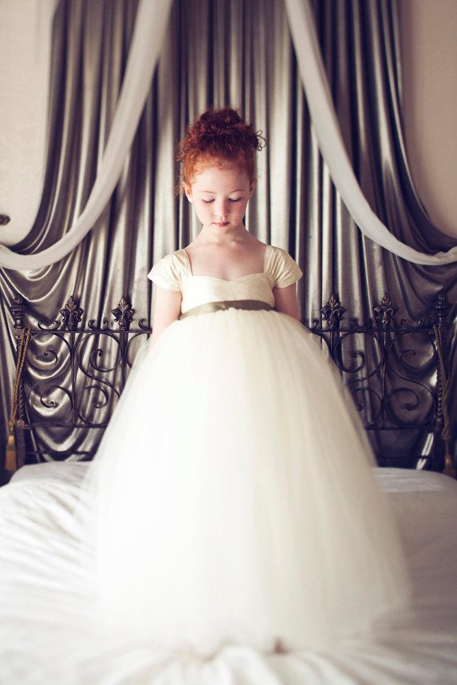 Flower Girl Dress by OliviaKateCouture on Etsy