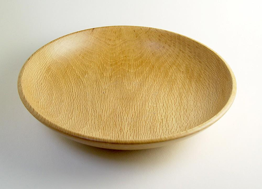 Wood Bowl Handturned from Reclaimed California by SalvageWoodworks