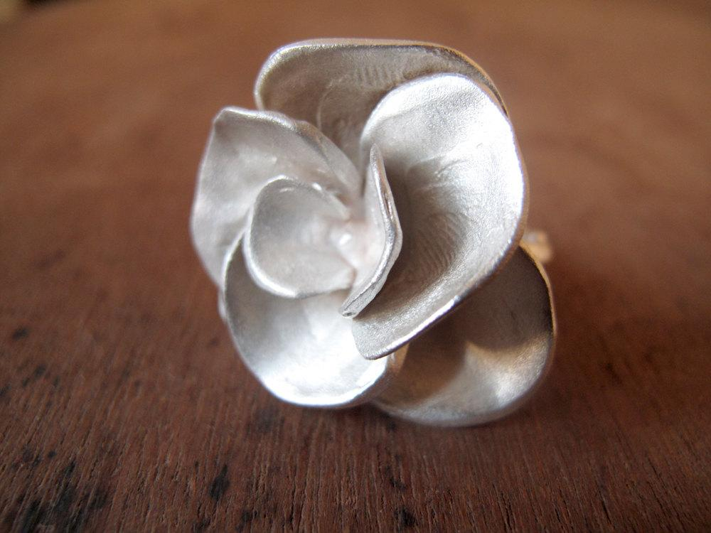 Rose ring Made to Order by masaoms on Etsy