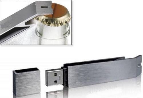 4GB USB Bottle Opener
