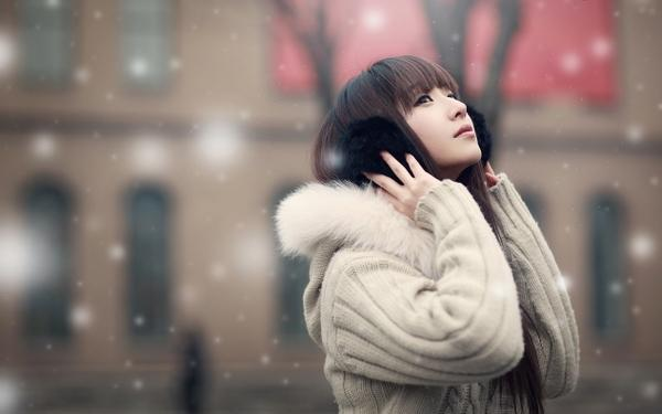 winter,women women winter snow asians 1266x792 wallpaper – Winter Wallpaper – Free Desktop Wallpaper
