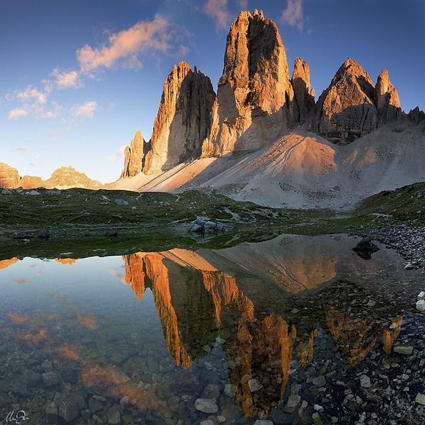 Tre Cime di Lavaredo: Photo by Photographer Marco Dian - photo.net