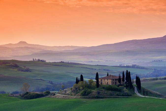 Tuscany Landscape: Photo by Photographer Roberto Carli - photo.net
