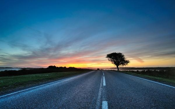 sunsets,landscapes sunsets landscapes photography roads 1920x1200 wallpaper – Sunsets Wallpaper – Free Desktop Wallpaper