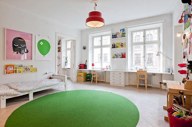 stella & henry: Kids Rooms: Simple Modern Color