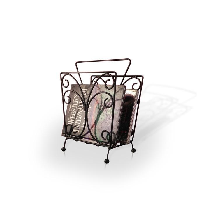 Buy Iron Magazine Holder   Racks & Cabinets   Pepperfry.com