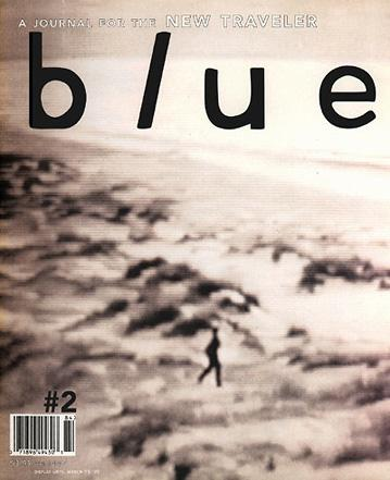 blue magazine | david carson design
