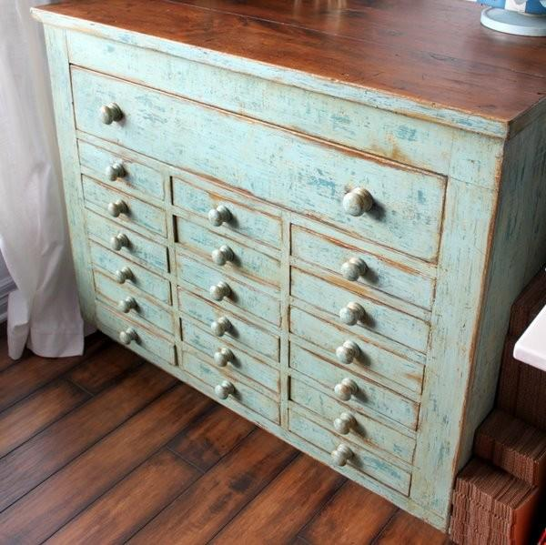 large antique apothecary style chest storage by oliverpoodle