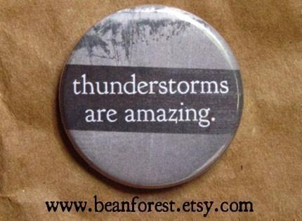 thunderstorms are amazing by beanforest on Etsy