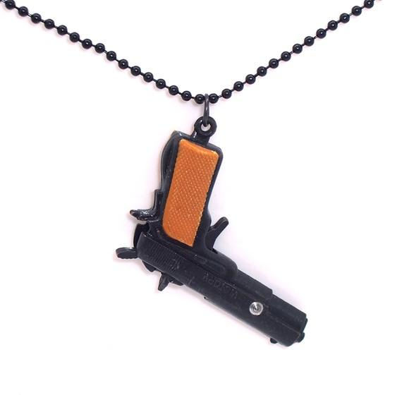 M9 Spy Gun NECKLACE steampunk by HModine on Etsy